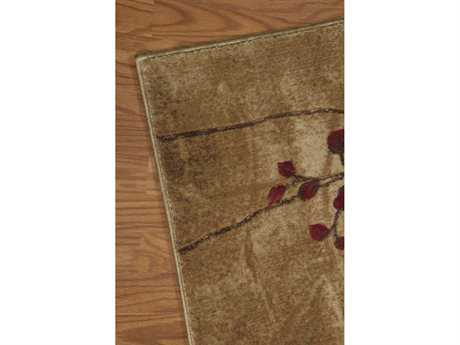 Nourison Somerset Runner Latte Area Rug