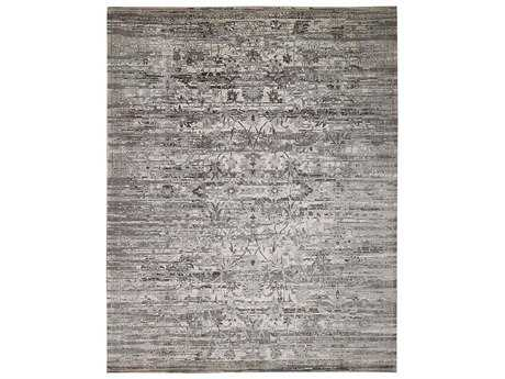 Nourison Twilight Rectangular Silver Area Rug