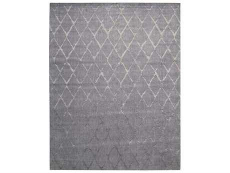 Nourison Twilight Rectangular Grey Area Rug
