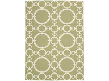 Nourison Waverly Sun N' Shade Rectangular Citrine Area Rug