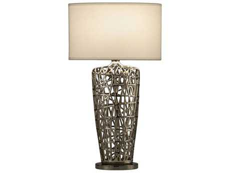 Nova Bird Nest Chrome Table Lamp NOV11076