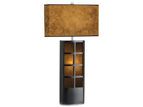 Nova Ventana Dark Brown Two-Light Table Lamp NOV0472DT