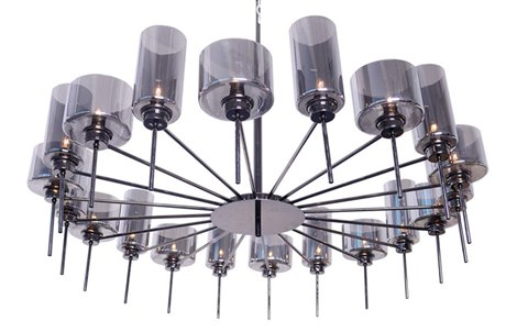 Nuevo Living Alexandria 20-Light 47.3'' Wide Chandelier NUEALEXANDRIAPENDANT