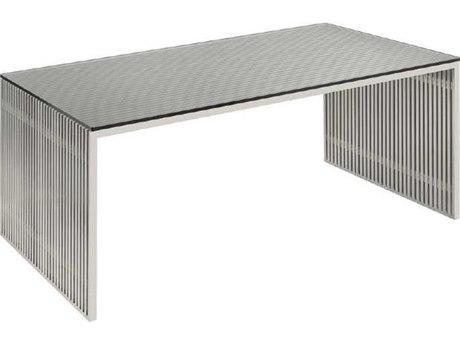 Nuevo Living Amici 64'' x 35.8'' Rectangular Gray Dining Table