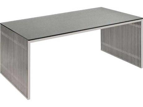 Nuevo Living Amici Gray 48'' x 28'' Rectangular Writing Desk