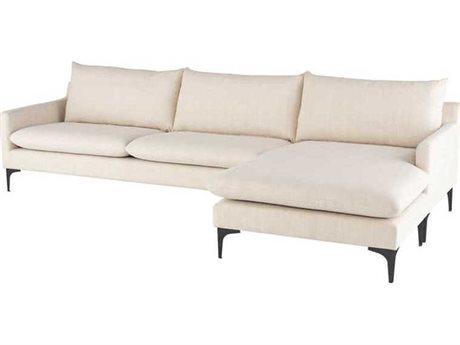 Nuevo Living Anders Sectional Sofa NUEANDERSSECSOFABLK