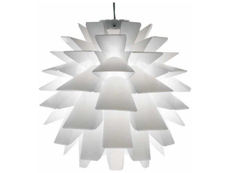 Nuevo Living Asparagus White 16'' Wide Pendant Light NUEHGVF130