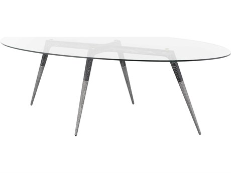 Nuevo Living Assembly 94'' Wide Oval Dining Table