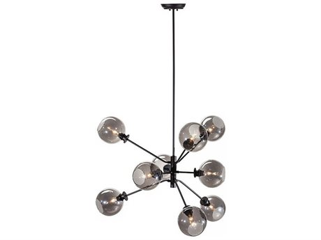 Nuevo Living Atom Nine-Light 28.8'' Wide Chandelier NUEATOMPENDANT