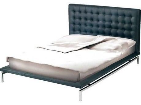 Nuevo Living Bentley White King Low Platform Bed NUEHGTA855
