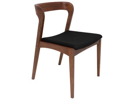 Nuevo Living Bjorn Black / Brown Dining Side Chair NUEHGEM331