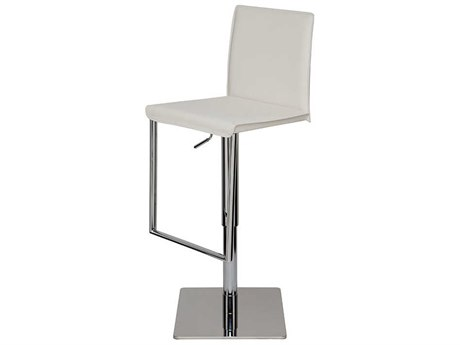 Nuevo Living Cameron Adjustable Swivel Table / Counter / Bar Stool NUECAMERONADJUSTABLESTOOL