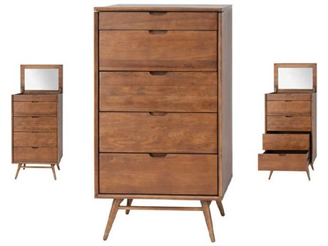 Nuevo Living Case Brown Chest of Drawers NUEHGST110