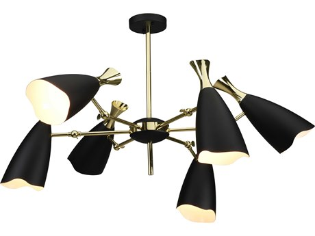 Nuevo Living Cella Six-Light 38.3'' Wide Chandelier NUECELLAPENDANT11