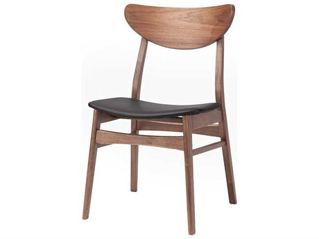 Nuevo Living Colby Black / Brown Dining Side Chair NUEHGWE117
