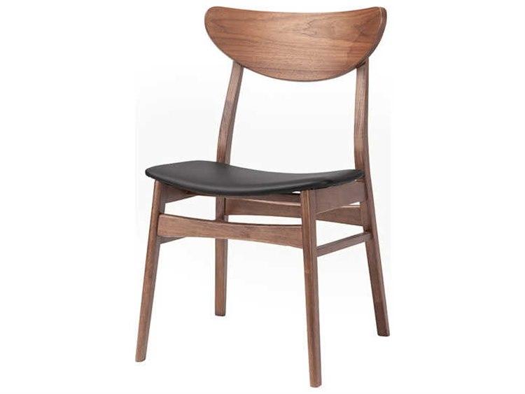 Nuevo Colby Black Brown Dining Side Chair Nuehgwe117