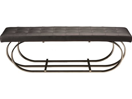 Nuevo Living Dante Black Accent Bench NUEHGTB511