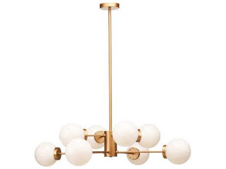 Nuevo Living Dylan Eight-Light 38.8'' Wide Chandelier NUEDYLANPENDANT