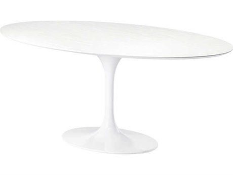 Nuevo Living Echo 77.3'' x 48'' Oval Dining Table NUEECHODININGTABLE