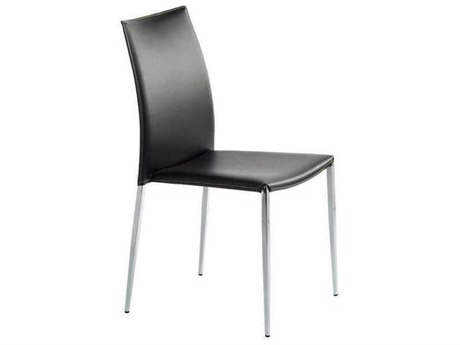 Nuevo Living Eisner Black Dining Side Chair