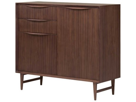 Nuevo Living Elisabeth Brown Two-Door / Two-Drawer 47.3'' x 17.8'' Sideboard Cabinet - Buffee NUEHGEM734