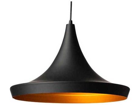 Nuevo Living Euclid Black / Gold Mini Pendant Light NUEEUCLIDPENDANT