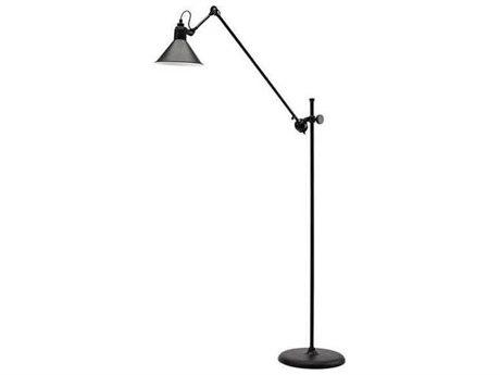Nuevo Living Fontaine Black 43.5'' Wide Floor Lamp
