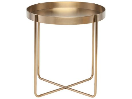 Nuevo Living Gaultier 22'' Round Side Table