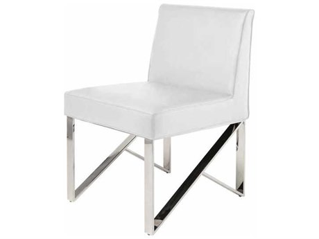 Nuevo Living Jacqueline White Dining Side Chair NUEHGTB239