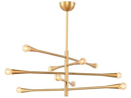 Nuevo Living Kaia Gold Ten-Light 45.8'' Wide Pendant Light