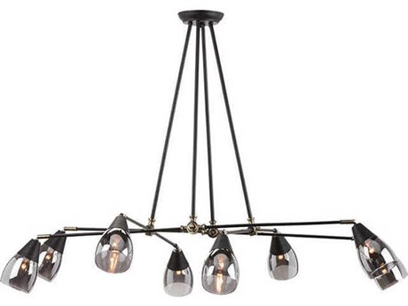 Nuevo Living Lanister Eight-Light 55.3'' Wide Chandelier NUELANISTERPENDANT7