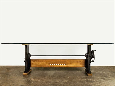 Nuevo Living Le Loi 94.5'' x 44'' Rectangular Black Dining Table NUEHGDA407