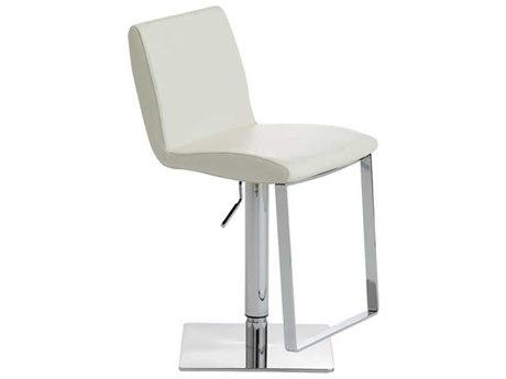 Nuevo Living Lewis Adjustable Swivel Table / Counter / Bar Stool NUELEWISADJUSTABLESTOOL