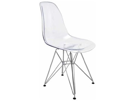 Nuevo Living Lucent Clear Dining Side Chair NUEHGZX209
