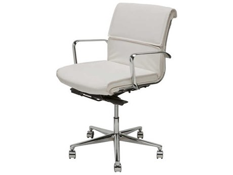 Nuevo Living Lucia Computer Chair NUELUCIAOFFICECHAIRLOWBACK