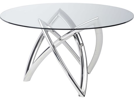 Nuevo Living Martina 53.3'' Round Dining Table NUEMARTINADININGTABLEL53