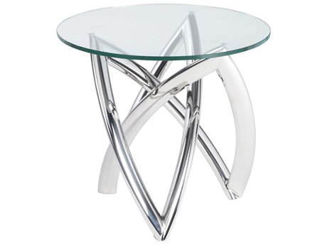 Nuevo Living Martina 23.8'' Round Side Table