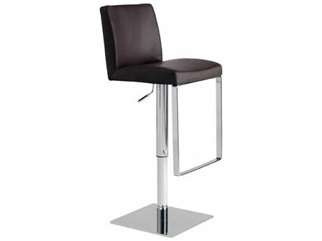 Nuevo Living Matteo Adjustable Swivel Table / Counter / Bar Stool NUEMATTEOADJUSTABLESTOOL