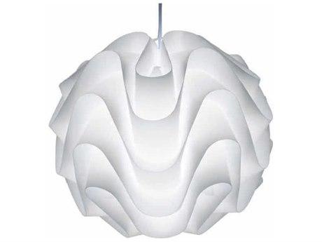 Nuevo Living Meringue White 16.5'' Wide Pendant Light NUEHGVF109