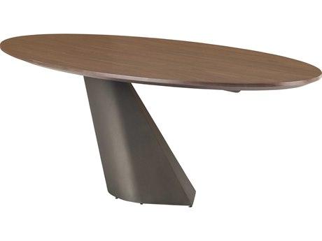 Nuevo Living Oblo 78'' Wide Oval Dining Table NUEOBLODININGTABLES
