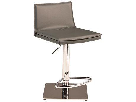 Nuevo Living Palma Adjustable Swivel Table / Counter / Bar Stool NUEPALMAADJUSTABLESTOOL