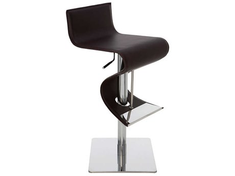 Nuevo Living Portland Adjustable Swivel Table / Counter / Bar Stool NUEPORTLANDADJUSTABLESTOOL