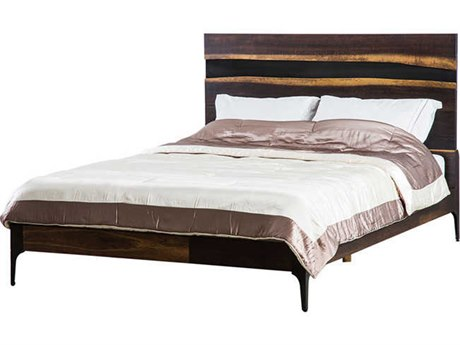 Nuevo Living Prana Brown King Platform Bed NUEHGSR608