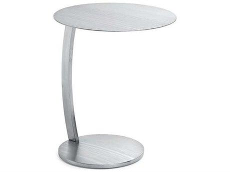 Nuevo Living Pria Silver 17.8'' Round Side Table
