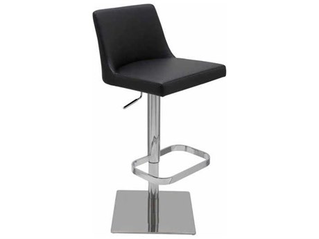 Nuevo Living Rome Adjustable Swivel Table / Counter / Bar Stool NUEROMEADJUSTABLESTOOL