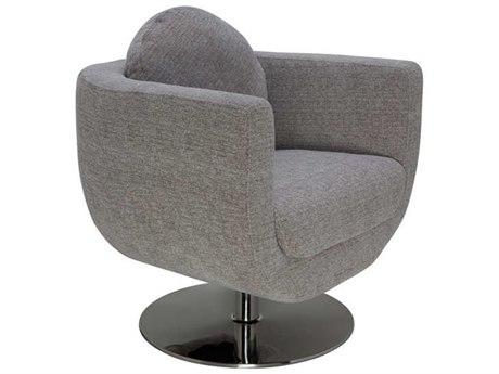 Nuevo Living Simone Gray Accent Chair
