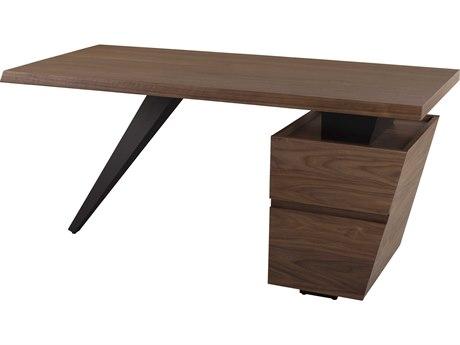 Nuevo Living Styx Walnut / Matte Black Secretary Desk