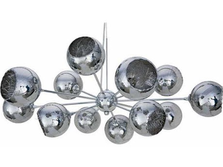 Nuevo Living Sylvie Silver 12-Light 32'' Wide Pendant Light NUEHGHO139