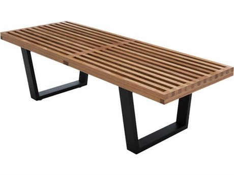 Nuevo Living Tao Brown Accent Bench