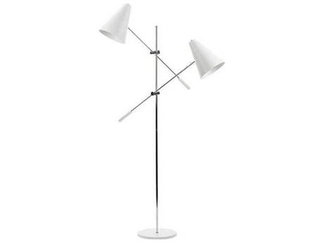 Nuevo Living Tivat 38.3'' Wide Two-Light Floor Lamp NUETIVATFLOOR2
